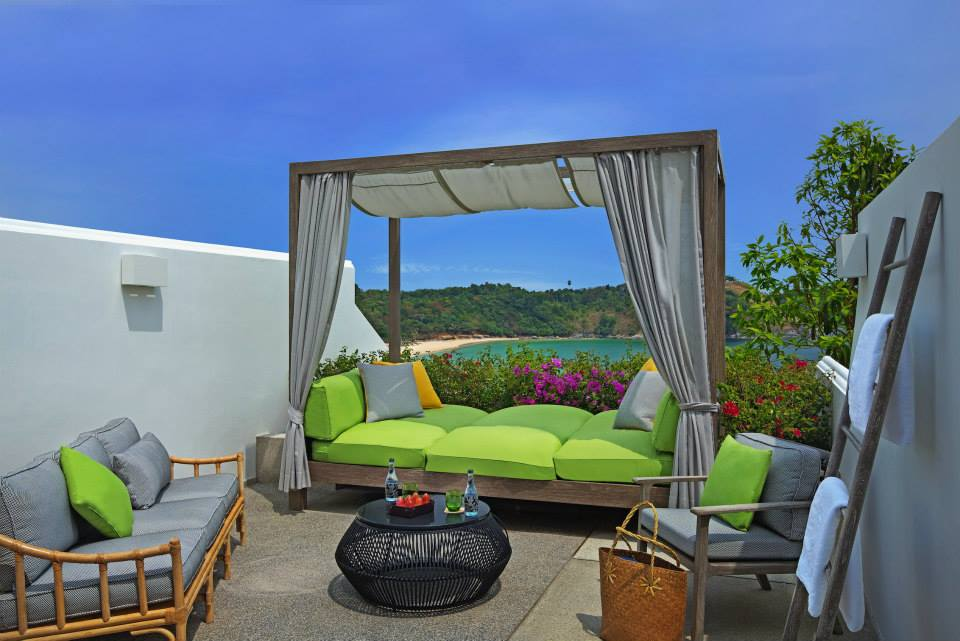 The Nai Harn, Phuket - Grand Deluxe Ocean View Room, Terrace