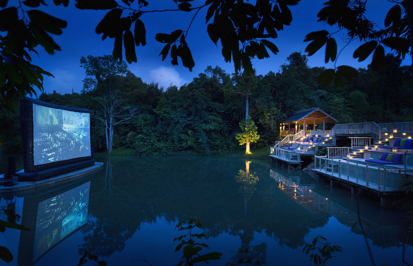 Soneva Kiri Koh Kood cinema paradiso, soneva kiri - Movie under stars
